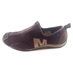 Merrell Barrado Leather Chestnut Women's 6.5